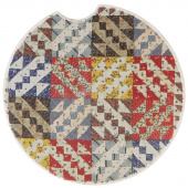 Quilt Car Coaster - Flying Geese