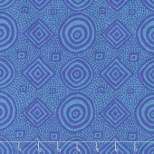 Kaffe Fassett Collective Spring 2018 - Dark Good Vibrations Teal   Yardage