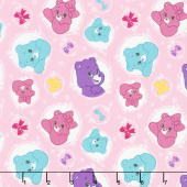 Care Bears - Sparkle & Shine Arrows in Pink Yardage
