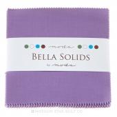 Bella Solids Hyacinth Charm Pack