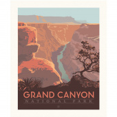 National Parks - Grand Canyon Poster Panel