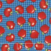 School Zone - Red Apples Blue Yardage