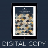 Digital Download - Easy Clamshell Quilt Pattern by Missouri Star