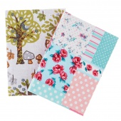 Fabric Covered Notebook - Small