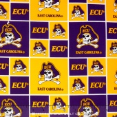 College - East Carolina University Allover Yardage