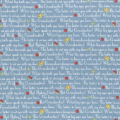 Little Red Riding Hood - Story Blue Yardage