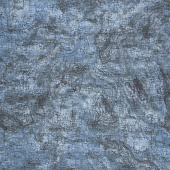 New Dawn - Elephant Texture Blue Digitally Printed Yardage