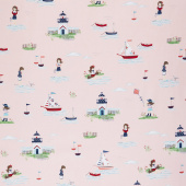 Seaside - Main Pink Yardage