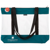 "Missouri Star SEEYOURSTUFF Bag 20"" x 17"" - Teal"