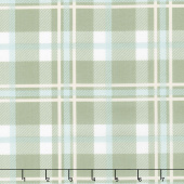 Harvest Road - Forever Plaid Sage Yardage
