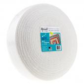 """Bosal Katahdin 100% Organic Cotton Precut 2 1/4"""" x 50 Yard Batting"""