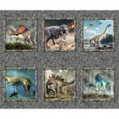 Jurassic - Dinosaur Block Multi Panel