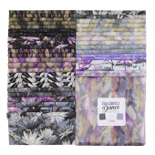 "Dragonfly Dance Purple Metallic 10"" Squares"