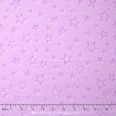 "Cuddle Embossed Star - Lilac 60"" Minky Yardage"