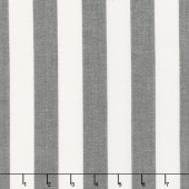 Urban Cottage - Wovens Bold Stripe Ivory Black Yardage
