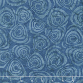 Tonga Batiks - United Swirls Blue Yardage