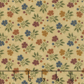 Nature's Glory - Fall Bouquet Tan Yardage
