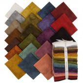 Woolies Color Wash Flannel Fat Quarter Bundle