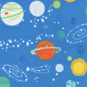 Out of this World - Out of this World Blue Yardage
