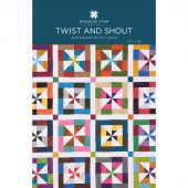 Twist and Shout Quilt Pattern by Missouri Star