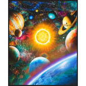 Stargazers - Planets Atmosphere Digitally Printed Panel