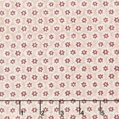 Kelmscott - Honeycombe Red Yardage
