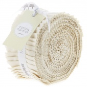 "Cotton Couture Cream 2.5"" Strips"