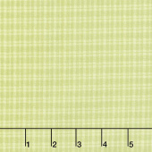 Butterfly Garden - Plaid Lime Yardage