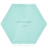 """Sue Daley Hexagon 2"""" Template Only"""