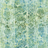 Artisan Batiks - Terrace Flowers Meadow Yardage