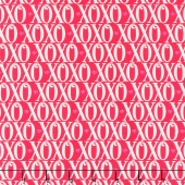 Love Letters - XOXO Allover Red Yardage