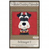 Schnauzer 2 Precut Fused Appliqué Pack