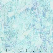 Blue Skies Batiks - Scribbled Leaves Bliss Yardage
