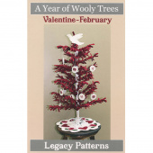 A Year of Wooly Trees Pattern - February Valentine