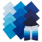 Kona Cotton - Waterfall Palette Fat Quarter Bundle