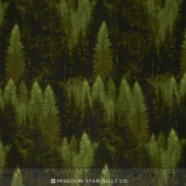 Majestic Outdoors - Majestic Forest Dark Green Yardage