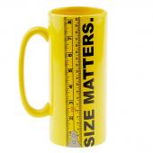 Size Matters Mug - Yellow 30 oz