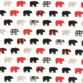 Wild at Heart - Bears Cream Yardage