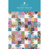 Goose Tracks Quilt Pattern by Missouri Star