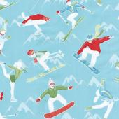 Winter Games - Athletes Aqua Yardage