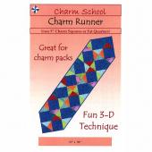 Charm Runner Pattern