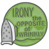 Irony Pin