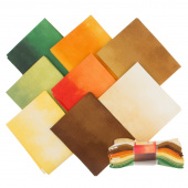 Wilmington Essentials - Ombre Washart Warm Fat Quarter Gems