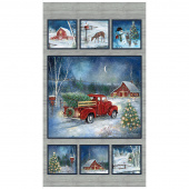 Holiday Journey - Red Truck Scenic Multi Panel