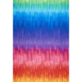 Novelty - Ombre Stripe Rainbow Yardage