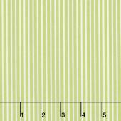 Smitten - Pinstripe Green Yardage