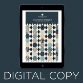 Digital Download - Diamond Dance Quilt Pattern by Missouri Star