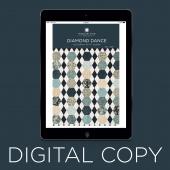 Digital Download - Diamond Dance Quilt Pattern by Missouri Star