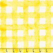 Provence Batiks - Check Lemonade Yardage