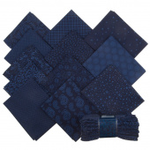 Wilmington Essentials - In the Navy Fat Quarter Gems